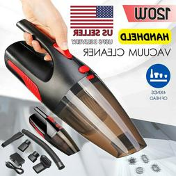 Cordless Hand Held Vacuum Cleaner Portable Car&Home Use W/ W