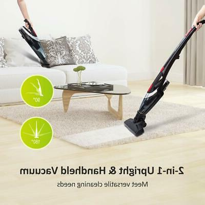 Homasy Cordless Stick 2-in-1 Cleaner Powerf...
