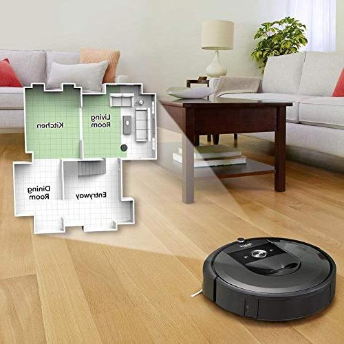 Connected Robot with Automatic Works Alexa, for Pet Hard Floors