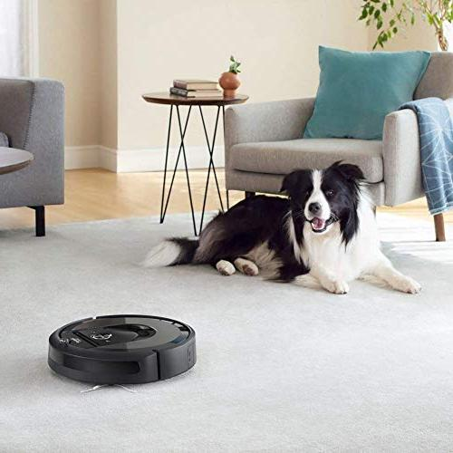iRobot Wi-Fi Connected Robot Vacuum Automatic Dirt Disposal Works with Hard