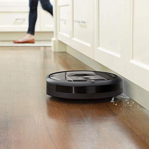 iRobot i7+ Wi-Fi Connected Automatic Dirt Disposal Works with for Pet Hair, Hard Floors