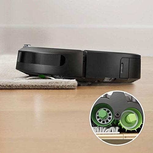 iRobot Connected Robot Vacuum Automatic Dirt Works for Pet Carpets, Hard Floors