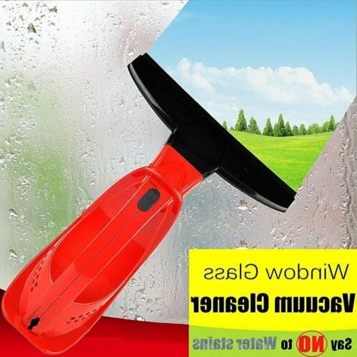 vacuum window cleaner wireless rechargeable glass cleaning