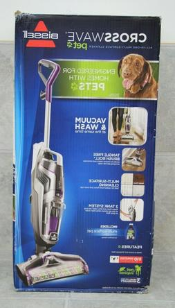 NEW Bissell CrossWave PET All-In-One Multi-Surface Cleaner M