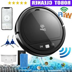 Wi-Fi Connected Smart Robot Vacuum Cleaner Sweep&Wet Mop For